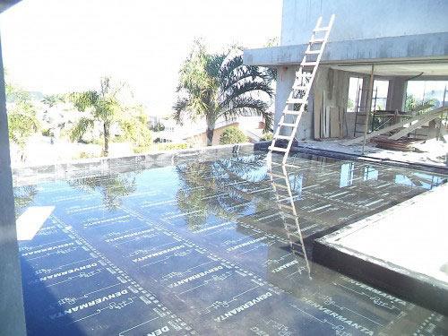 Impermeabilização em laje residencial